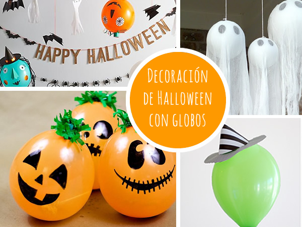 Decoracion halloween globos - Decoracion de halloween para fiestas ...